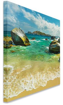 Canvas Photos with .75 Mirror Wrap