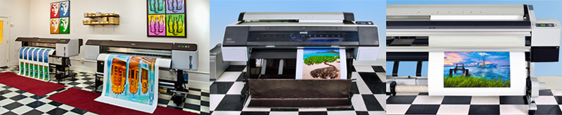 photo printing on large format canvas printers