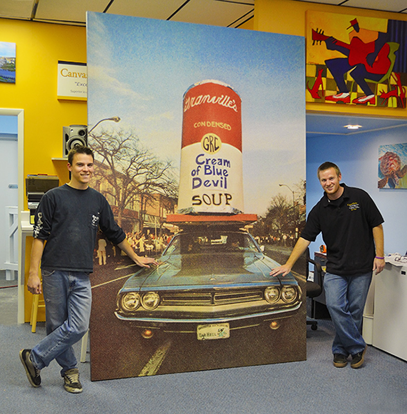 We Are The Professionals Choice in Large Format Printing