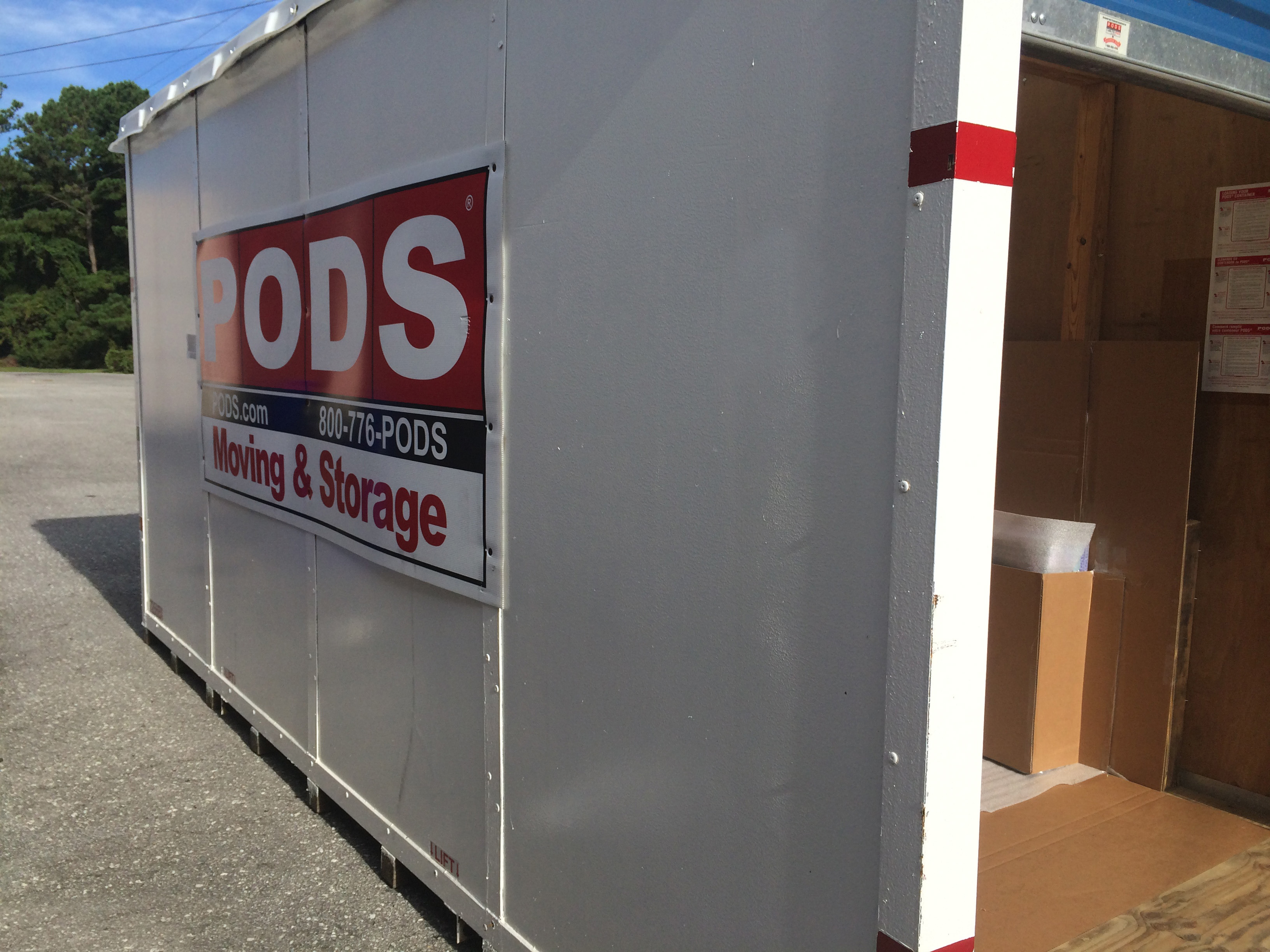pod container for shipping large print orders