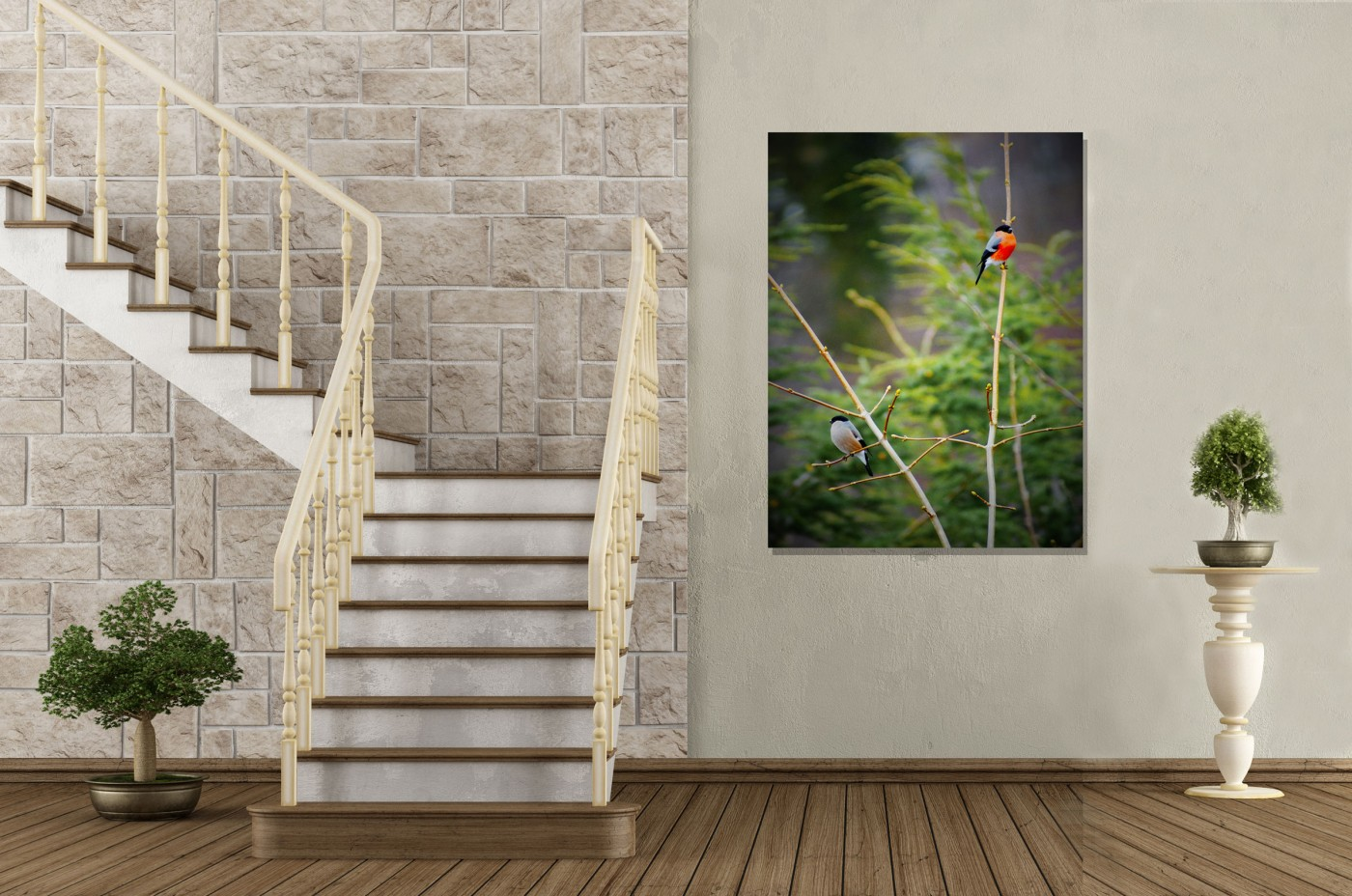 pictures printed on canvas